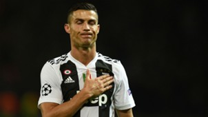 Cristiano Ronaldo Juventus Manchester United UEFA Champions League 23102018