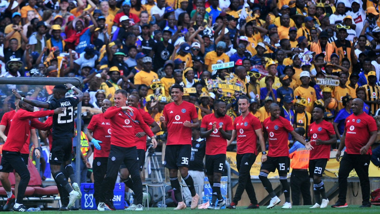 Orlando Pirates players, October 2018