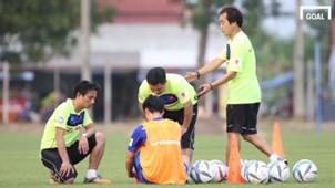 U23 Việt Nam tập luyện tại Thái Lan 12.12