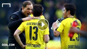 GFX Thomas Tuchel Raphael Guerreiro Borussia Dortmund