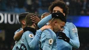 Gabriel Jesus Leroy Sane Manchester City Everton 151218