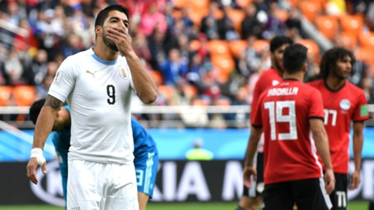 Suarez Egypt Uruguay World Cup
