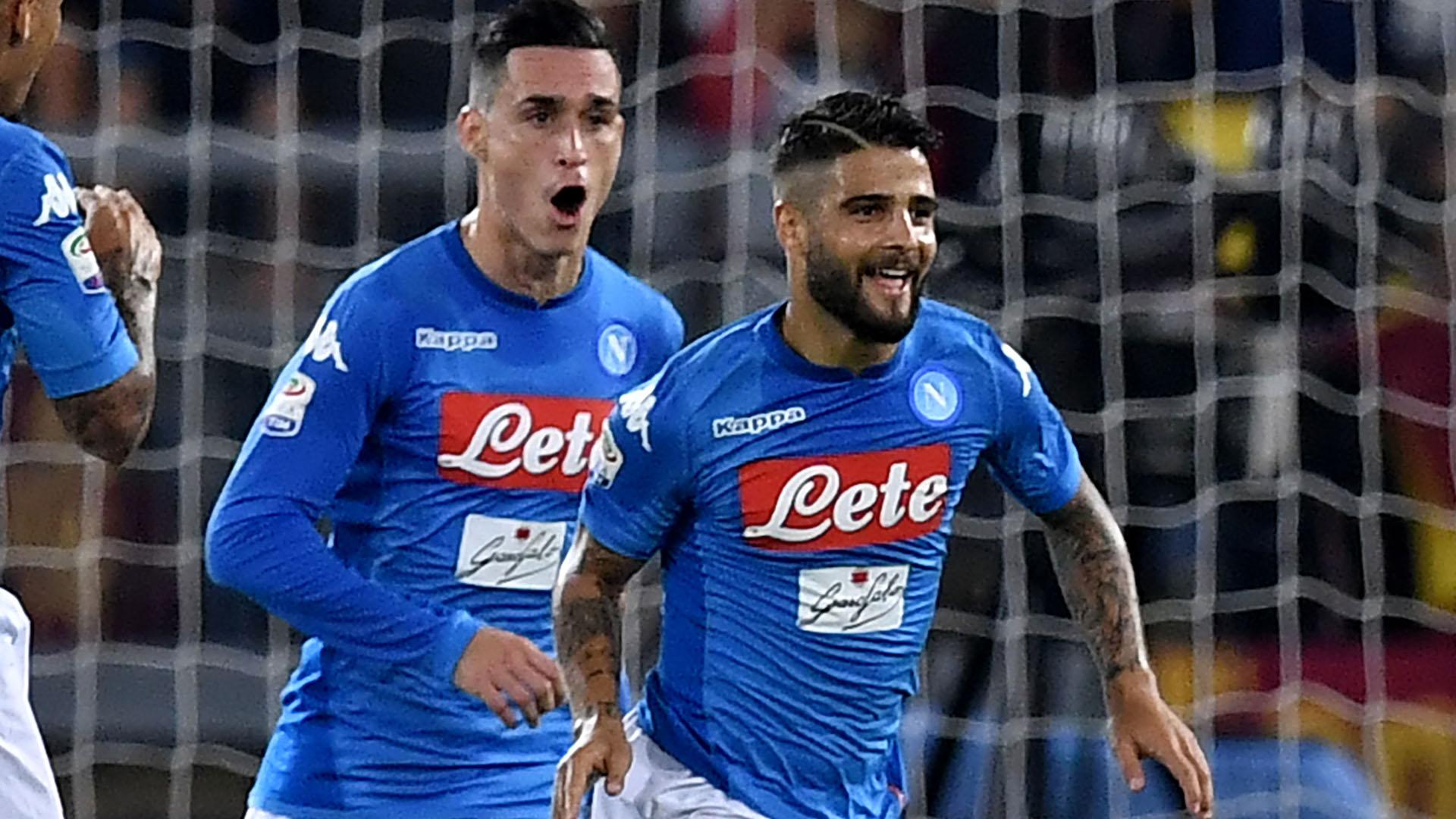 Lorenzo Insigne Roma Napoli Serie A
