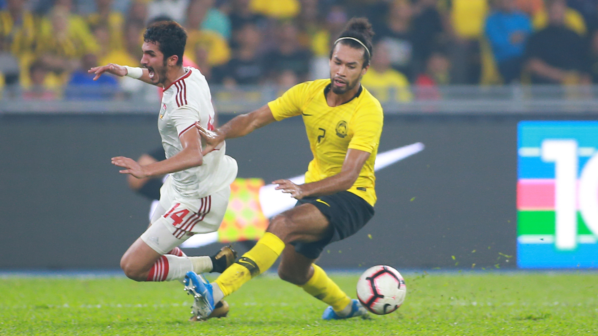 La'Vere Corbin-Ong, Malaysia v UAE, 2022 World Cup Qualifier, 10 Sep 2019