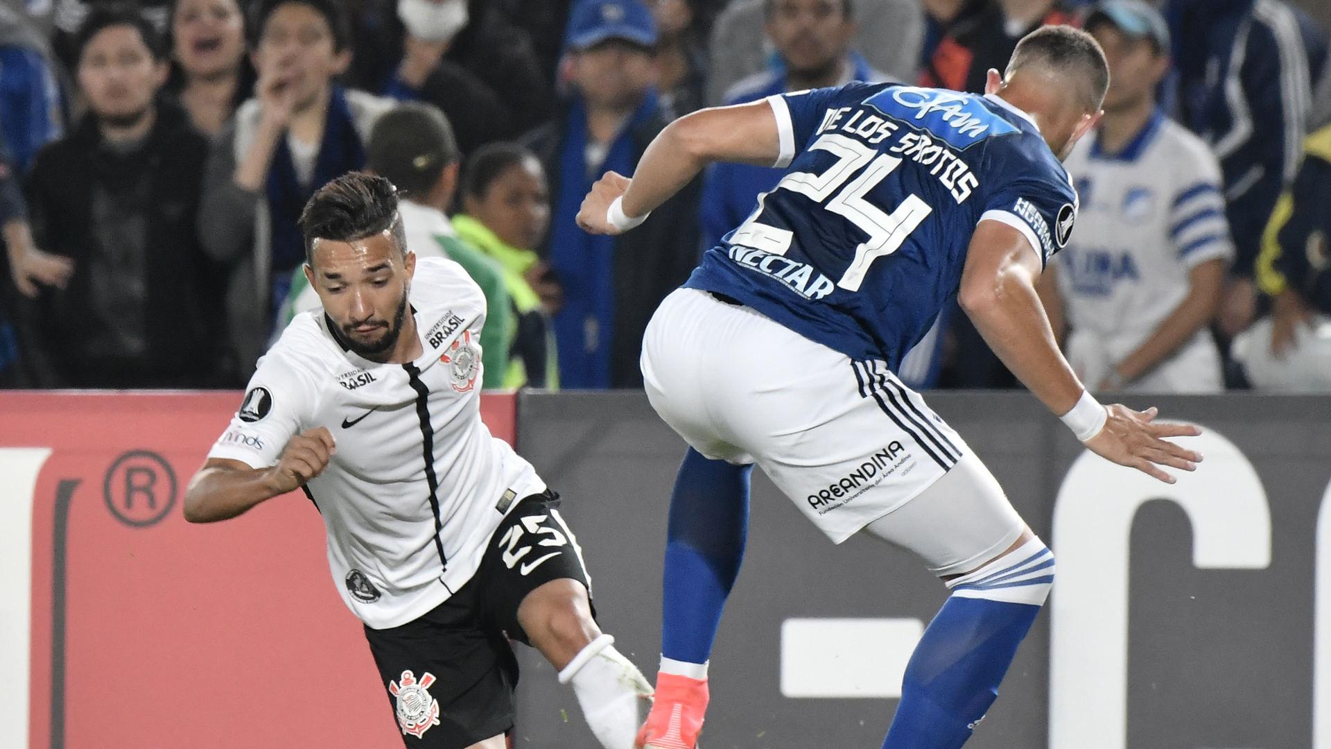 Clayson Matias de los Santos Millonarios Corinthians 28022018 Copa Libertadores