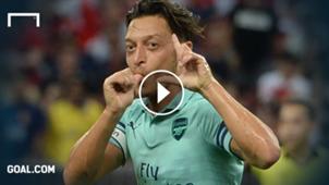 Özil Arsenal PSG