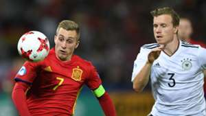 Gerard Deulofeu Yannick Gerhardt Spain U21 Germany 30062017