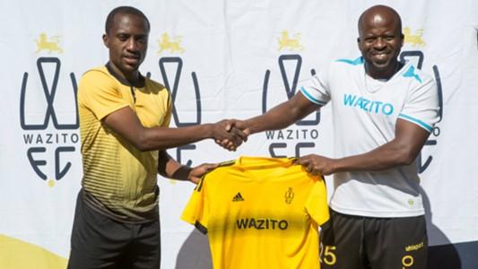 Wazito FC coach Frank Ouna.