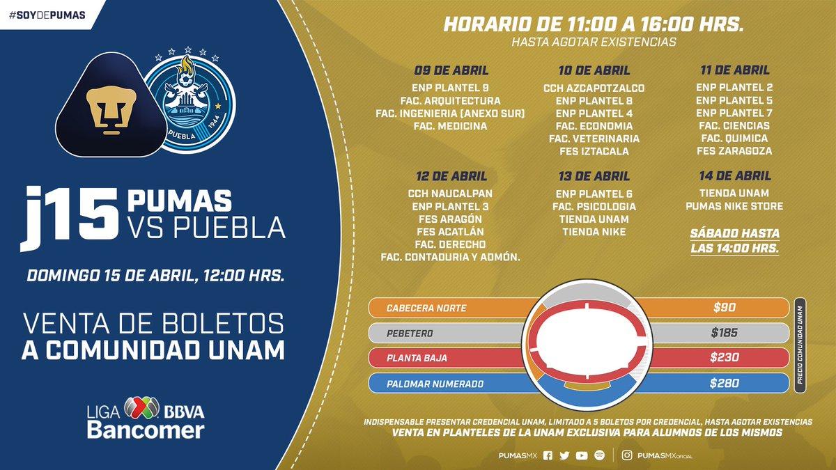 Pumas derrota a Puebla con tres goles de Nicolás Castillo
