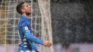 Dries Mertens Genoa Napoli Serie A