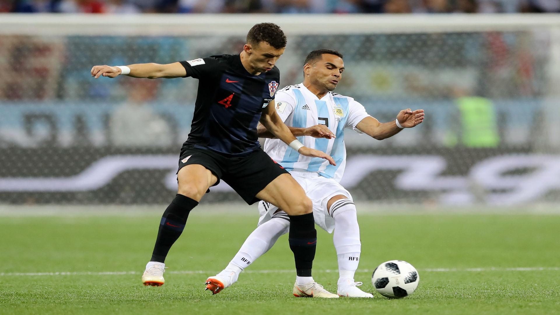 croatia argentina - ivan perisic gabriel mercado - world cup - 21062018