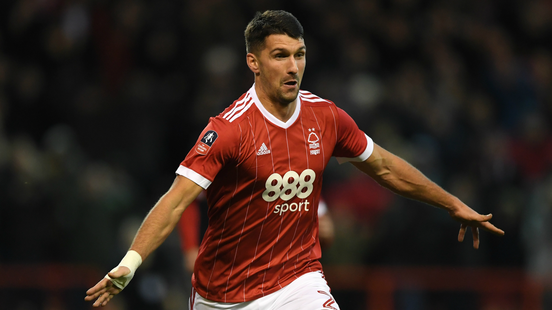 Eric Lichaj Nottingham Forest Arsenal