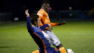 Ben Sweat Alberth Elis New York City FC vs. Houston Dynamo