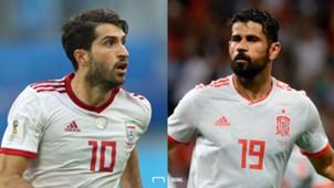 イラン対スペイン