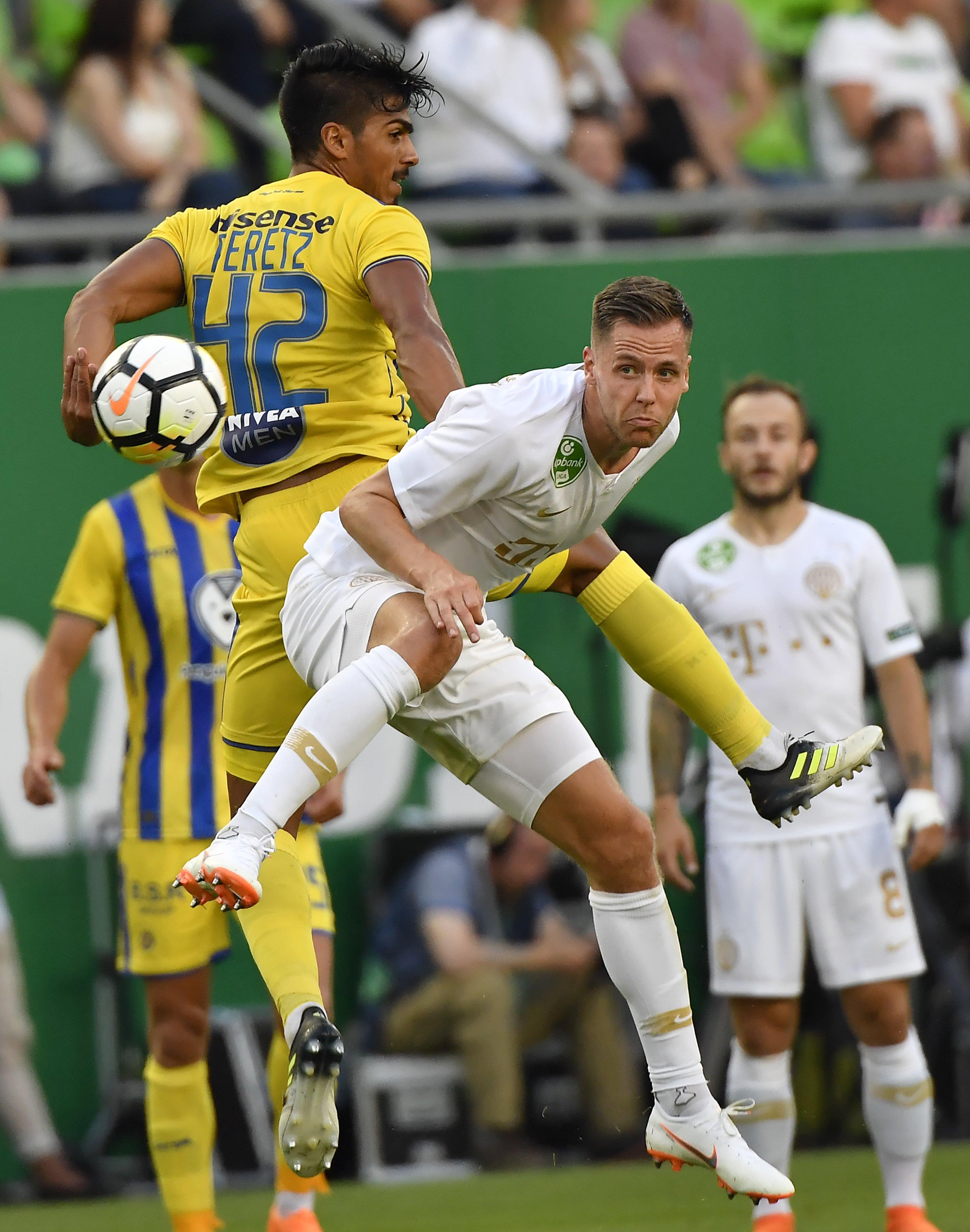 Kjartan Finnbogason Ferencváros Maccabi Tel Aviv