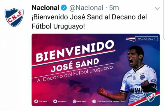 Captura Jose Sand Twitter Nacional