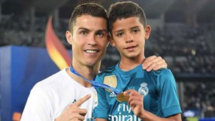 Ronaldo and his son 2