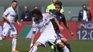 Andrea Barberis Andrea Poli Crotone Bologna Serie A