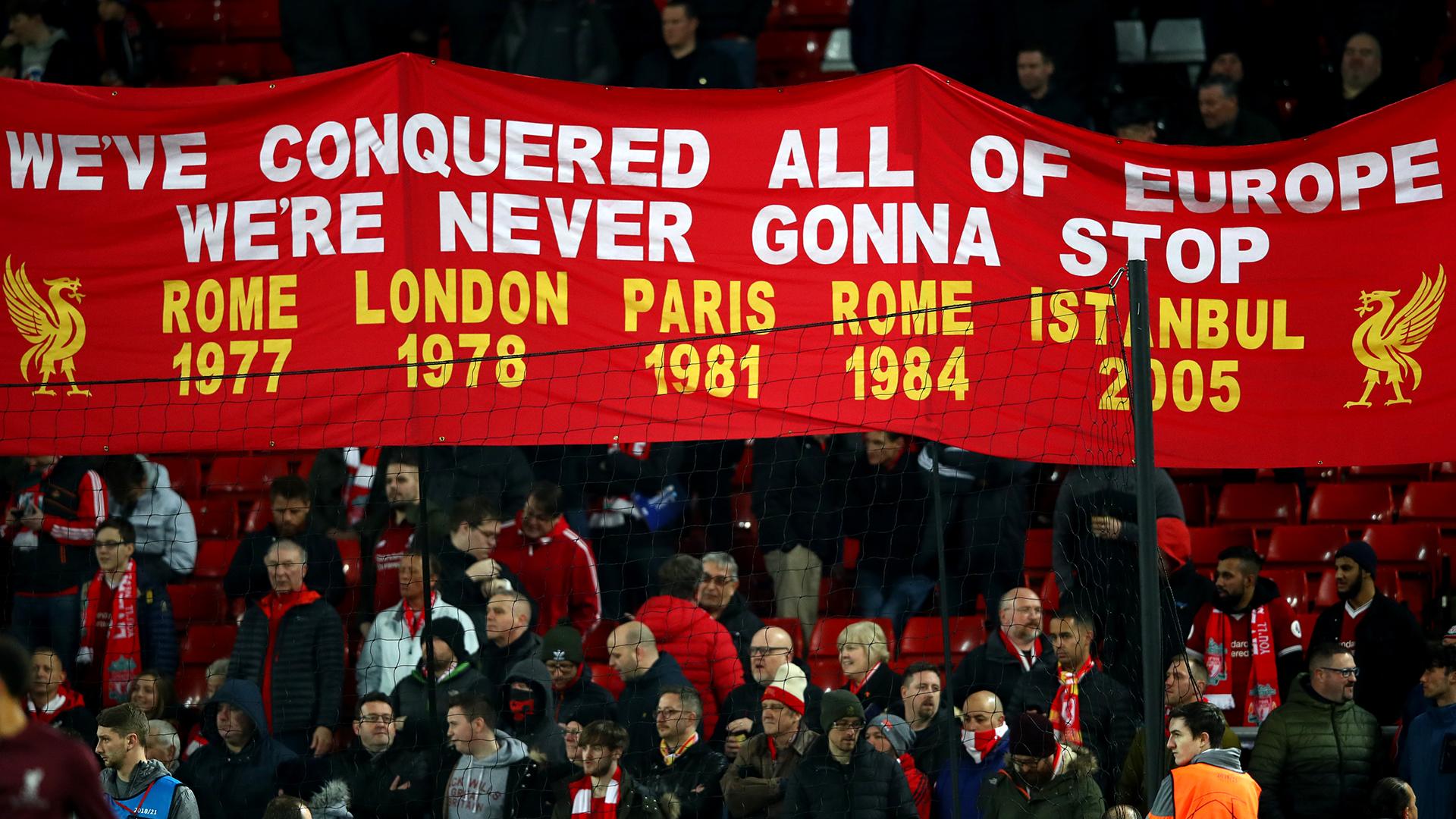 Allez Allez Allez! The story behind famous Liverpool chant