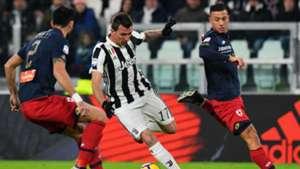 Mario Mandzukic Juventus Genoa