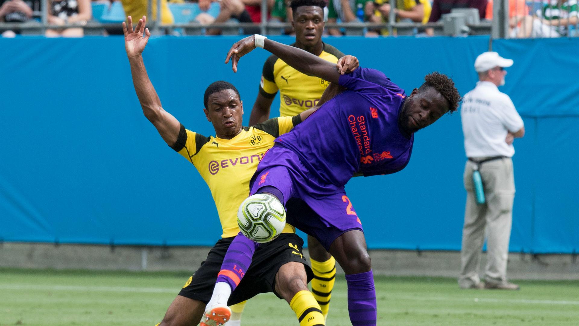 Divock Origi Abdou Diallo Liverpool Borussia Dortmund ICC 2018
