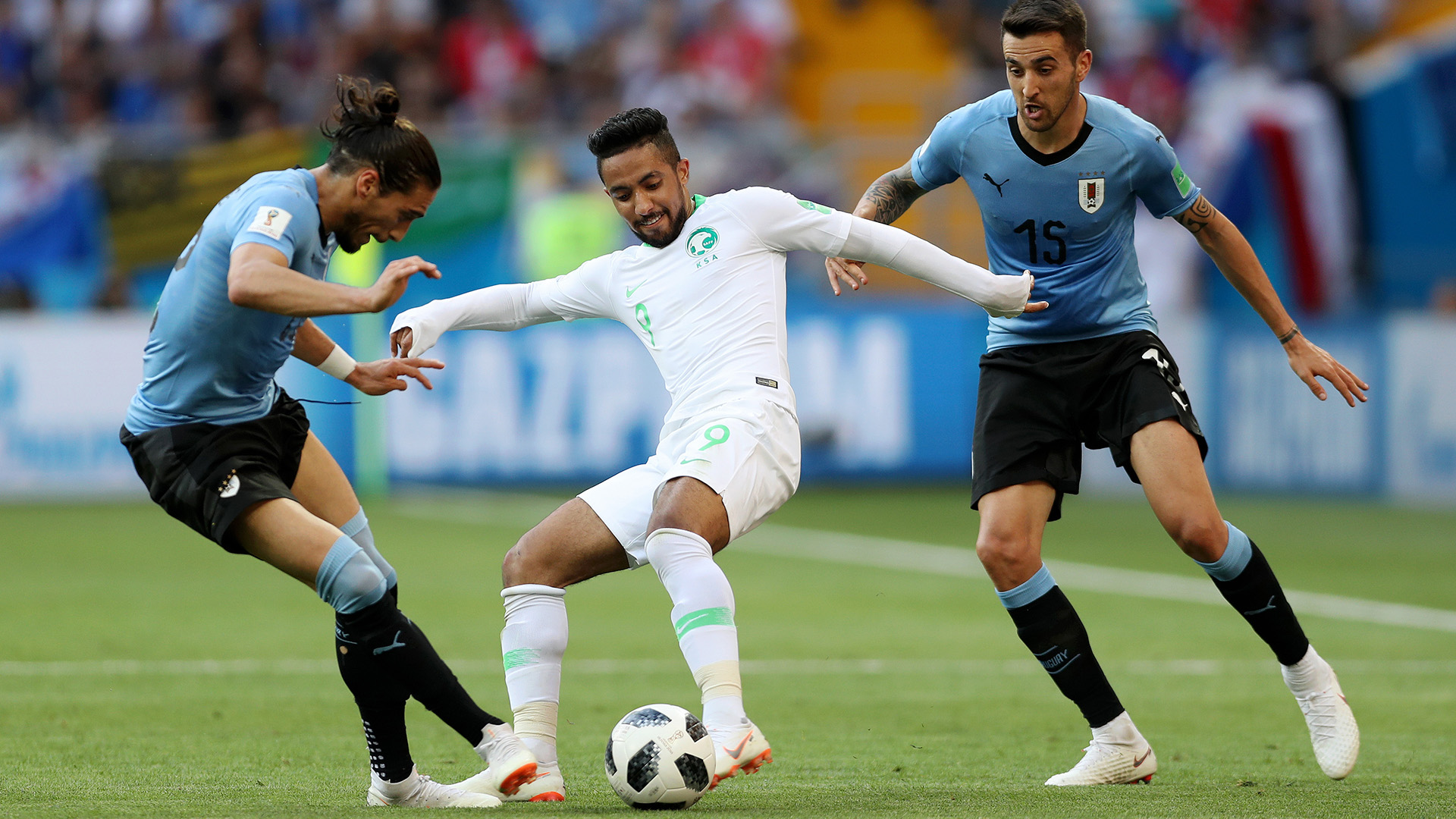 Saudi Arabia beats Egypt at World Cup