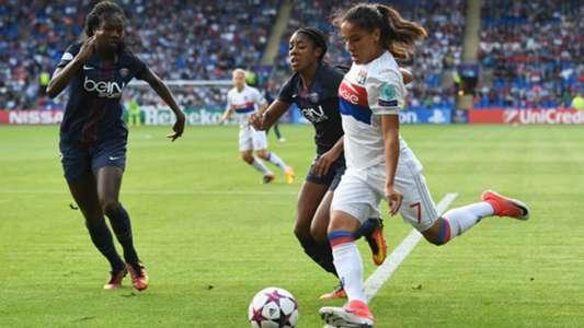 Amel Majri Lyon PSG Women Champions League 01062017