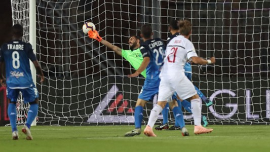 Lucas Biglia goal Empoli Milan
