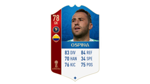 FIFA 18 World Cup CONMEBOL Ratings Ospina