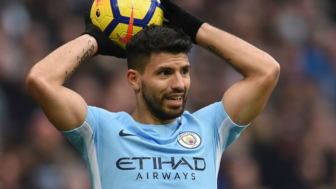 Aguero credits Guardiola with making him better as he closes on 200 goals for Man City