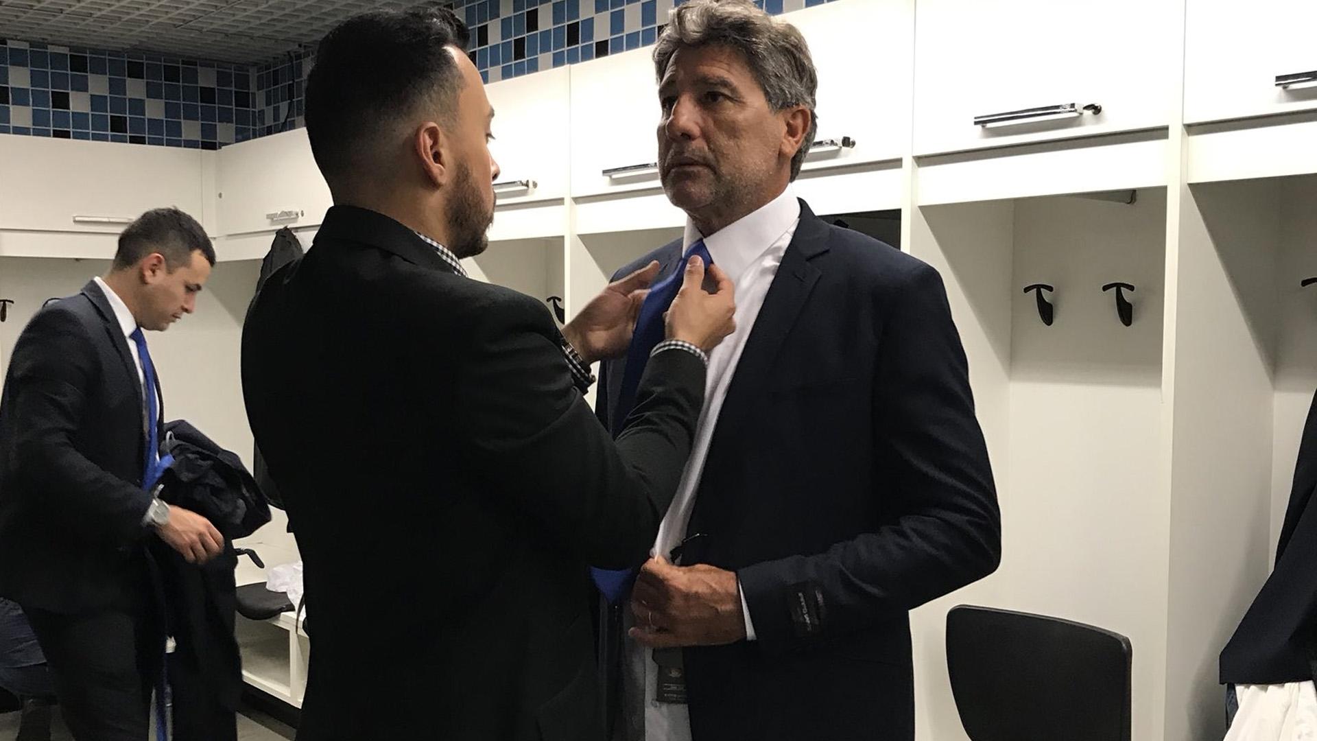 Renato Gaúcho Grêmio preparativo viagem Mundial de clubes 06 12 17