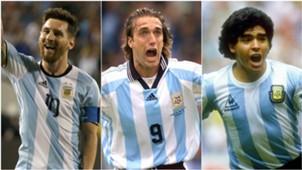 Goleadores Mundiales Argentina