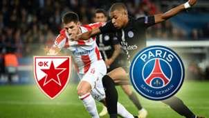 Roter Stern Belgrad PSG TV LIVE-STREAM DAZN Champions League