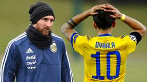 Lionel Messi Paulo Dybala
