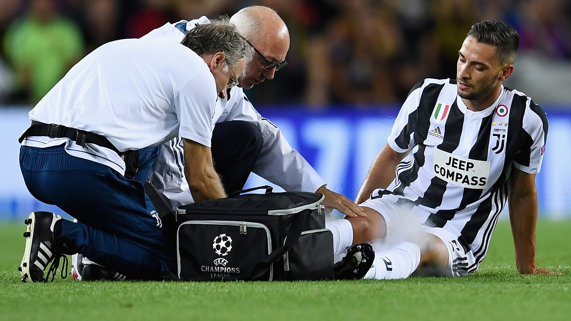 Mattia De Sciglio Barcelona Juventus Champions League