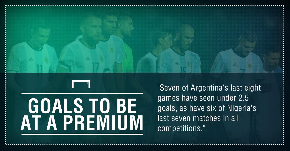 Argentina Nigeria graphic