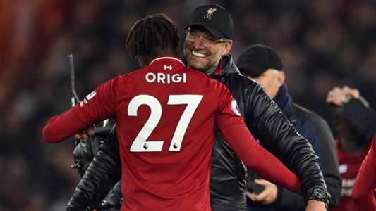 Divock Origi Jurgen Klopp Liverpool Everton Premier League