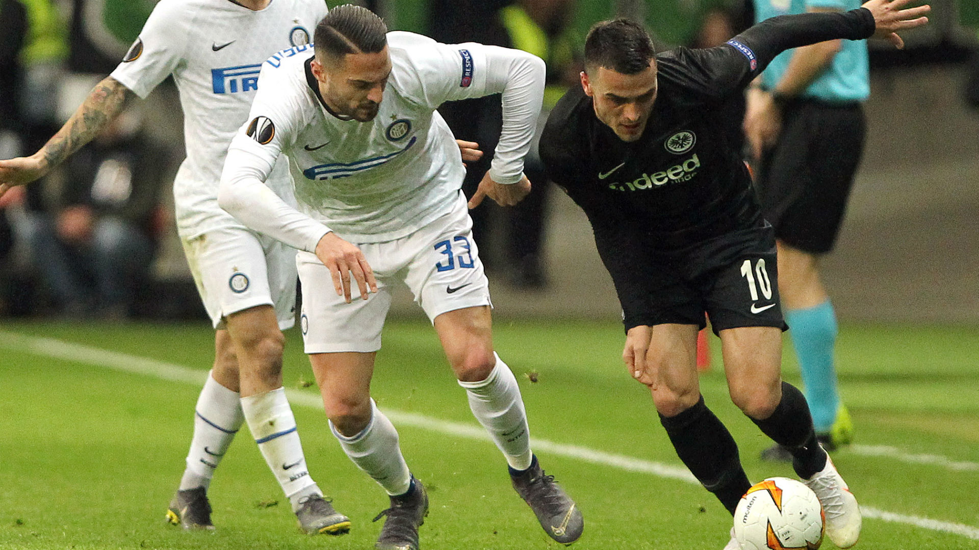 Filip Kostic Eintracht Frankfurt Inter Mailand 07032019