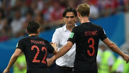 russia croatia - josip pivaric ivan strinic zlatko dalic - world cup - 07072018