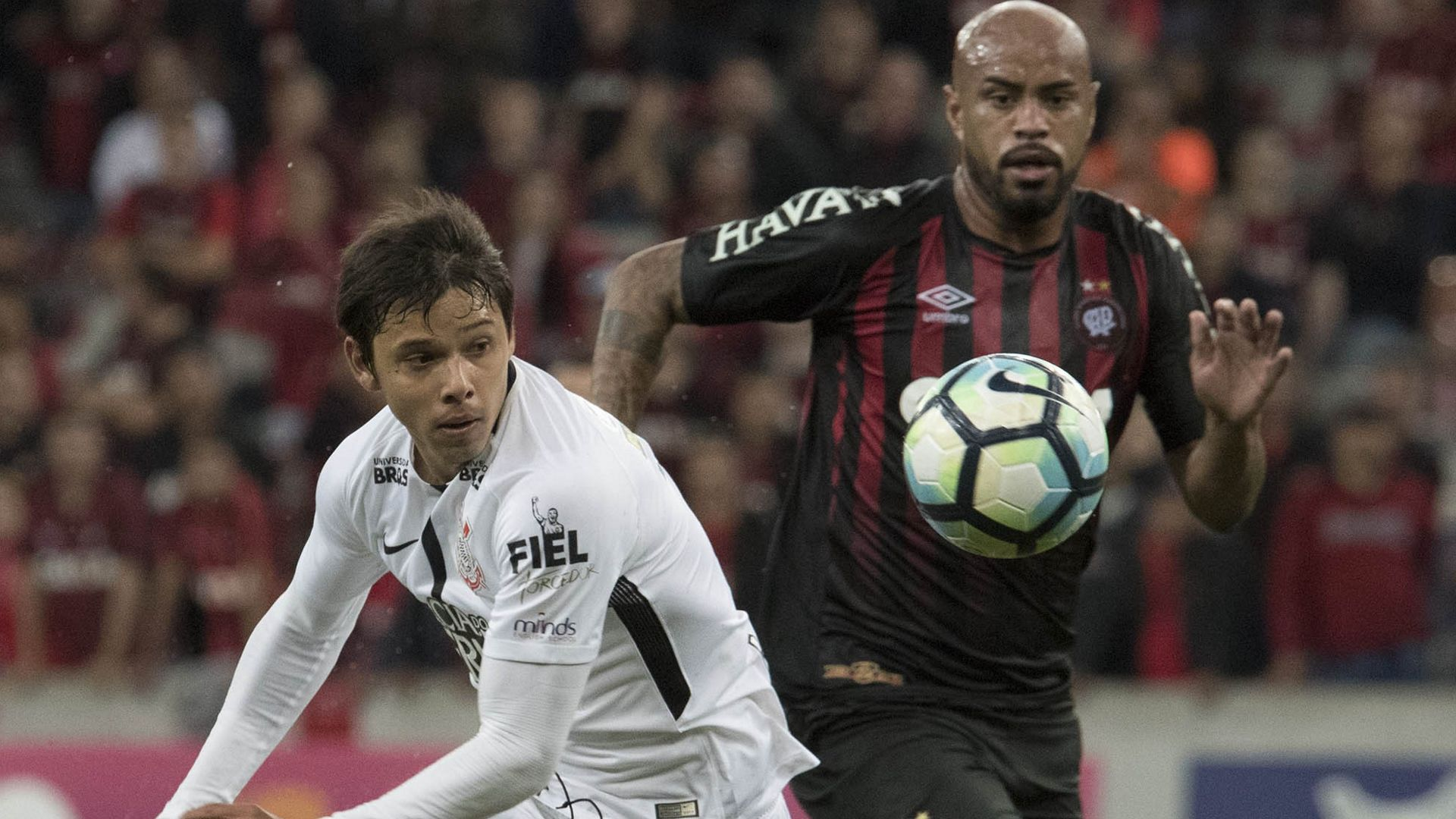 Angel Romero Atletico-PR Corinthians Brasileirao Serie A 08112017
