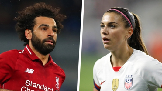 5804d5ae5 Time 100  Mohamed Salah and Alex Morgan named to most influential people  list