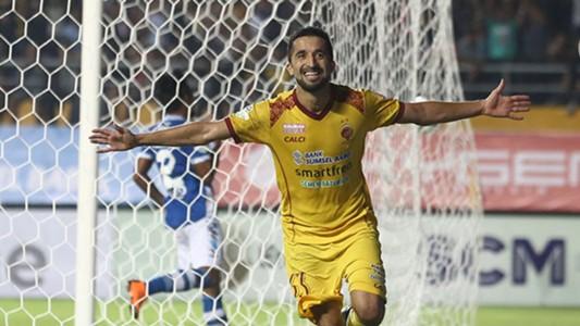Selebrasi Manuchekhr Dzhalilov - Sriwijaya FC