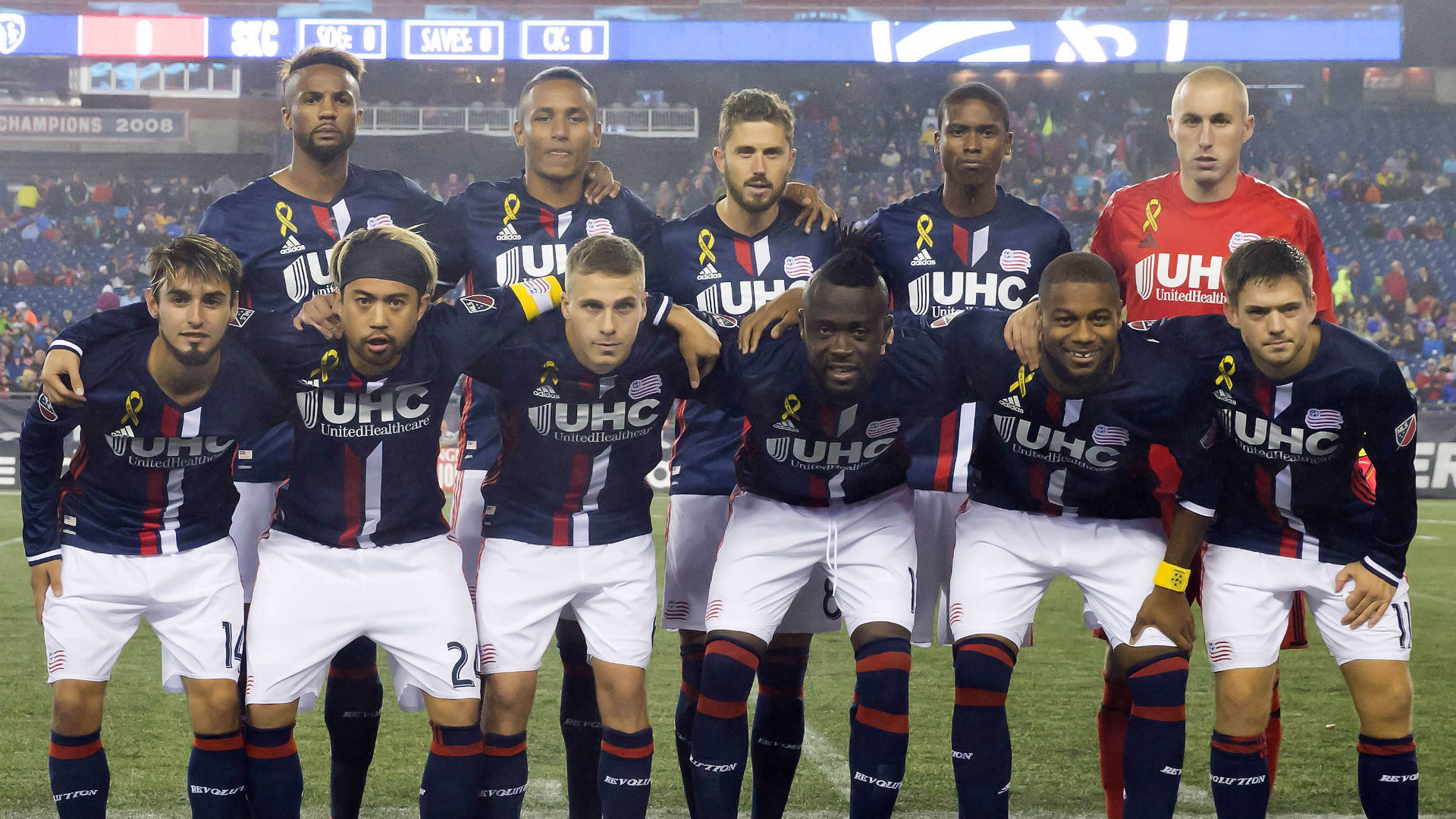 New England Revolution team photo 100116