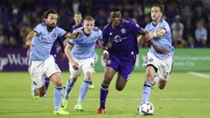 Cyle Larin Andrea Pirlo MLS Orlando City NYCFC 03052017