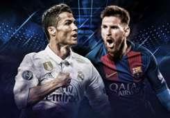 El Classico Ronaldo Madrid Messi Barca