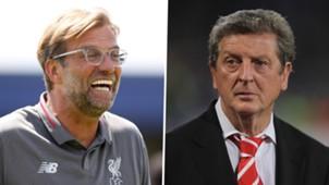 Jurgen Klopp Roy Hodgson Liverpool
