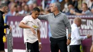 Alexis Sanchez Jose Mourinho Burnley Manchester United