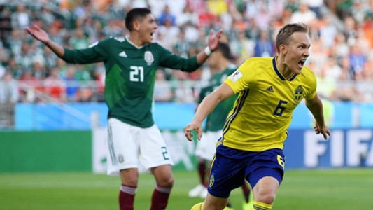 Ludwig Augustinsson Mexico Suecia Sweden 27062018