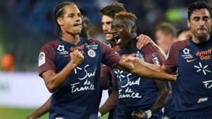 Daniel Congre Montpellier Strasbourg Ligue 1 19082017