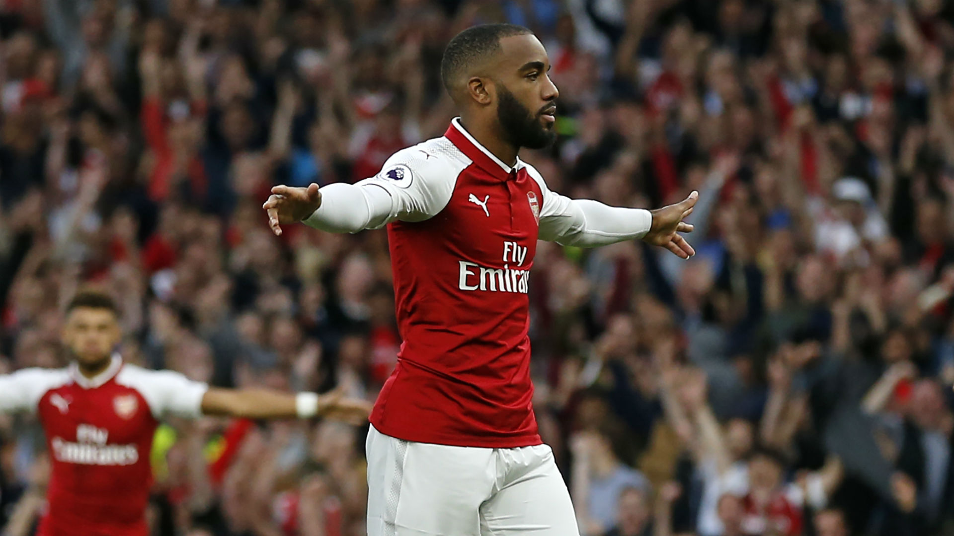 HD Alexandre Lacazette Arsenal Premier League